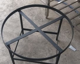 Chân bàn inox vuông
