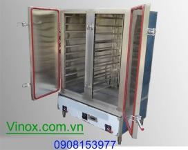 Tủ hấp cơm 100kg dùng gas