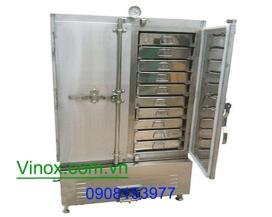 Tủ hấp cơm 50kg dùng điện
