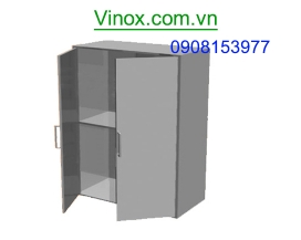 Tủ Inox treo tường cửa lùa